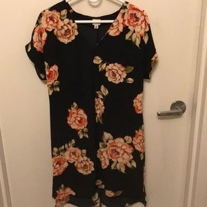 A New Day (Target) floral shift dress